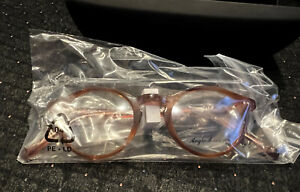 NEW Authentic Anglo American Optical 406 DB Tortoise 45mm Frames Glasses RX-able