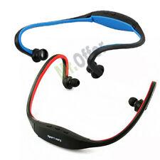 Cuffie sport senza fili con micro SD 16GB inclusa radio FM Cuffia mp3  auricolari da129caa119b