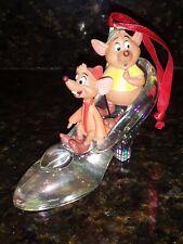 Disney Sketchbook Ornament Cinderella Jac And Gus In Slipper