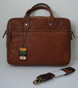 Fionte Top Grain Leather Briefcase