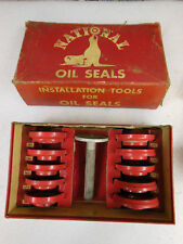 vtg NATIONAL Installation Tools for Oil Seals - complete Kit with original Box