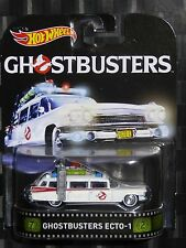 2016 HOTWHEELS - Retro entertainment A - GHOSTBUSTERS Ecto-1
