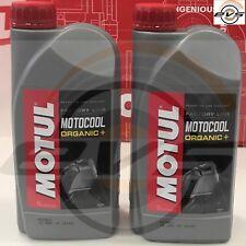 2 Litri Motul Motocool Factory Line Liquido Radiatore Organico Pronto Uso Rosso