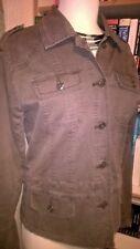 CMH Heavy Dark Grey Jag Jeans Denim Cotton Long Sleeve Jacket Sz M Medium PC001