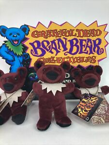 Limited Edition 1999 All Access National Guard Grateful Dead Bear Brand New