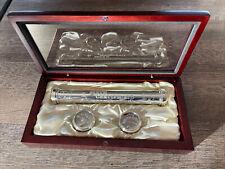 Nib Wood Memory Box Birth Certificate Holder 1st Curl & Tooth Baby Born Keepsake