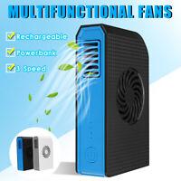 🔥 Portable Mini 6000mAh Power Bank Electric USB Cooling Fan Cooler  ❤ *