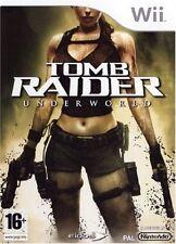 TOMB RAIDER  UNDERWORLD             -----   pour WII  -----