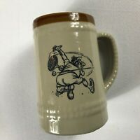 World's Greatest Tennis Player Stein VTG Beer Mug Funny Drink Missed Swing Gift