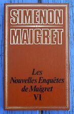 G. Simenon, coll. Maigret, Les nouvelles enquêtes de Maigret VI, ES Editions