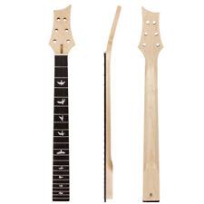 Kmise Electric Guitar Neck Canada Maple 22 Large Frets Bolt On
