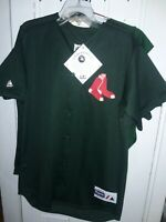 Boston Red Sox baseball Green Jersey great for St. Patrick's Day shirt MLB NEW M