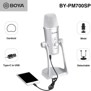 BOYA BY-PM700SP USB Microphone Stereo Condenser Mic for Computer PC Recording