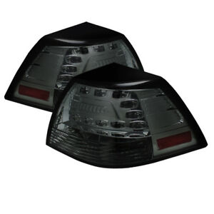 Pontiac 08-09 G8 Smoke LED Rear Tail Lights Brake Lamp Set GXP Base GT Sedan