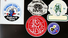 Coal Mine Rescue Mine Stickers B26