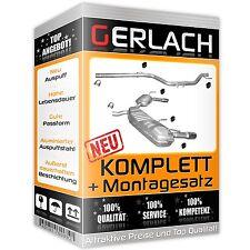 Auspuff Opel Signum 3.0 CDTi TD / Opel Vectra C 3.0 CDTi TD Auspuffanlage *3366