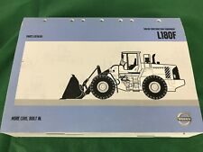 OEM VOLVO L180F Wheel Loader PARTS CATALOG BOOK MANUAL