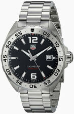 Tag Heuer Formula 1 Black Dial 3 Row Links Steel Quartz Men Watch WAZ1112.BA0875