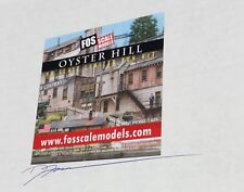 FOS Limited Edtion OYSTER HILL. Factory sealed unopened box with signature.