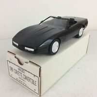 1989 ERTL Corvette Convertible Black Dealer Promotional Model Car