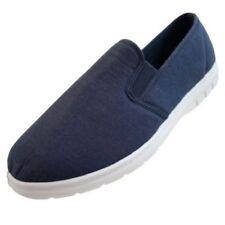 Sandalias y chanclas de hombre textil de color principal azul