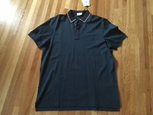 Authentic Salvatore Ferragamo Collar Button-up Polo Size XXL