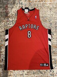 3XL Vintage Adidas José Calderón Toronto Raptors Jersey (Autographed)