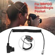 4K to D-tap Power Cable for BMPCC Blackmagic Pocket Cinema Camera Battery