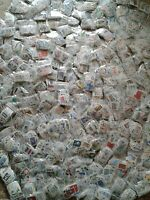 500 timbres de France grands formats oblitérés