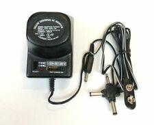 Universal AC to DC Power Supply Wall Plug Adapter 1.5V 3V 4.5V 6V 7.5V 9V 12V