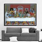 Hip Hop Music Rapper Star Legend The Last Supper Wall Decor Poster , no Framed
