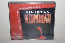 Wolfgang Pampel liest ILLUMINATI Dan Brown CD HÖRBUCH BASTEI LÜBBE Jubi Edition