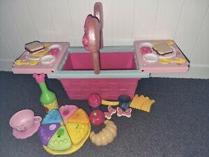 Minnie Mouse Picnic Basket Disney Store Toy