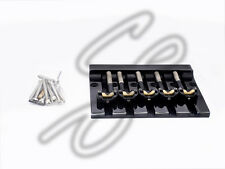 Brand new 5 string Hipshot KICKASS black bass bridge type I retrofits badass