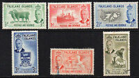 Falkland Islands Part Set 1952 Mounted Mint & Used Stamps  (5008)