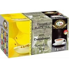 Gred Schwarzer Tee mit Melone 2g x 25  Neu Aromatisie