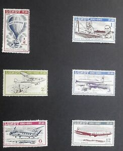 LUNDY ISLAND 1954 MINT AIRMAIL SET TO 12 PUFFINS LOVELY STAMPS FINE CONDITION