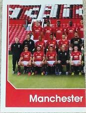 186 MANCHESTER UNITED team left 2016/2017 Topps Merlin Premier League sticker