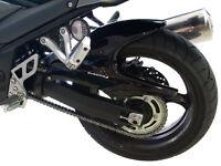 Suzuki Bandit GSF1250  Rear Hugger / Rear Fender: Black 070400B
