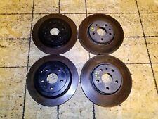 11 12 13 14 15 CHEVROLET CAMARO LT Front+Rear Brake Disc Rotors Set of 4pcs OEM