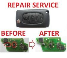 PEUGEOT 207 307 308 407 BOXER PARTNER EXPERT REPAIR SERVICE FOR REMOTE KEY FOB