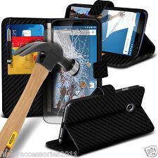 LIBRO in Pelle Portafoglio qualità Telefono Case Cover protezione schermo vetro ✔ ✔ Lenovo