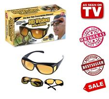 HD Vision Wrap Around Driving Anti Glare Glasses - As Seen On TV