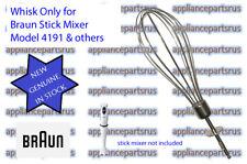 Braun Stick Mixer Whisk 4191- Part BR64189652 64189652 & 4189652 - NEW - GENUINE