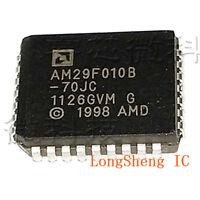 5PCS AM29F010B-70JC PlCC-32 1 Mb (128K x 8) Uniform Sector, Flash Memory new