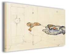 Quadro moderno Egon Schiele vol XXX stampa su tela canvas pittori famosi
