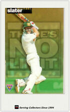 1995-96 Futera Cricket There is No Limit TNL13: Michael Slater (Australia)