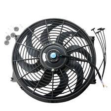 1 Pcs 14 inch Electric Radiator Cooling Fan 12V Universal Slim Pull Push Racing