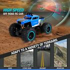 RC Electric Truck Remote Control Car Toy Off Road Monster Crawler Boys