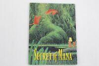 Secret of Mana SNES Super Nintendo Folded Poster Map Insert ONLY
